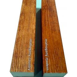 ДЕКОРАТИВНА ГРЕДА /МАХАГОН/ Н-5 см. W-12 см.