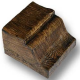 CS65dark oak - H-12 cm W-12 cm L-14 cm