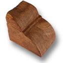CS73light oak - H-10 cm W-10 cm L-12 cm